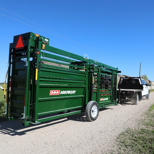 Q-Catch 87 Series Cattle Chute & Alley