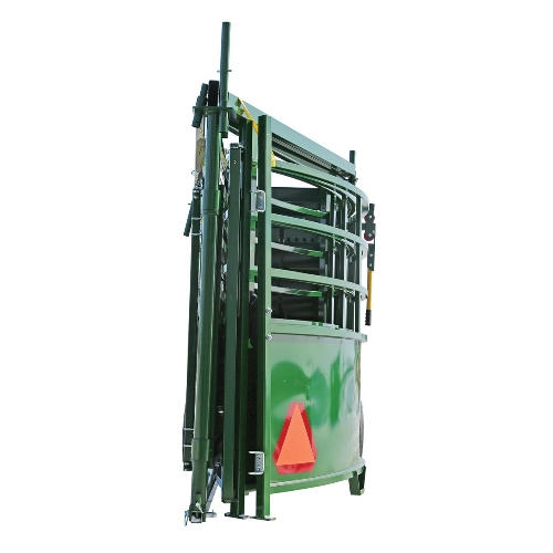 Collapsible Tub on Arrowquip portable cattle handling systems