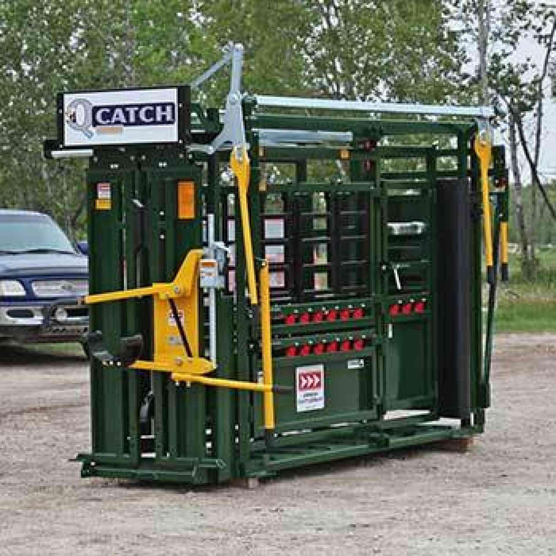 Q-Catch 500 Series Cattle Chute