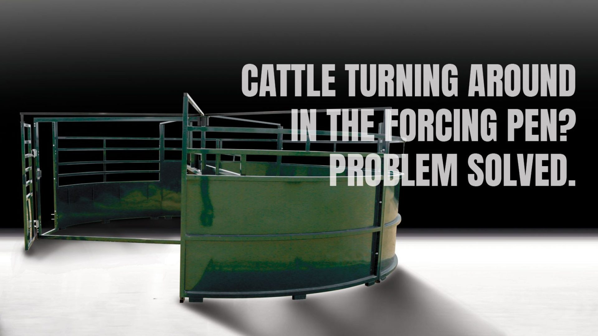 BudFlow Cattle Forcing Pen by Arrowquip