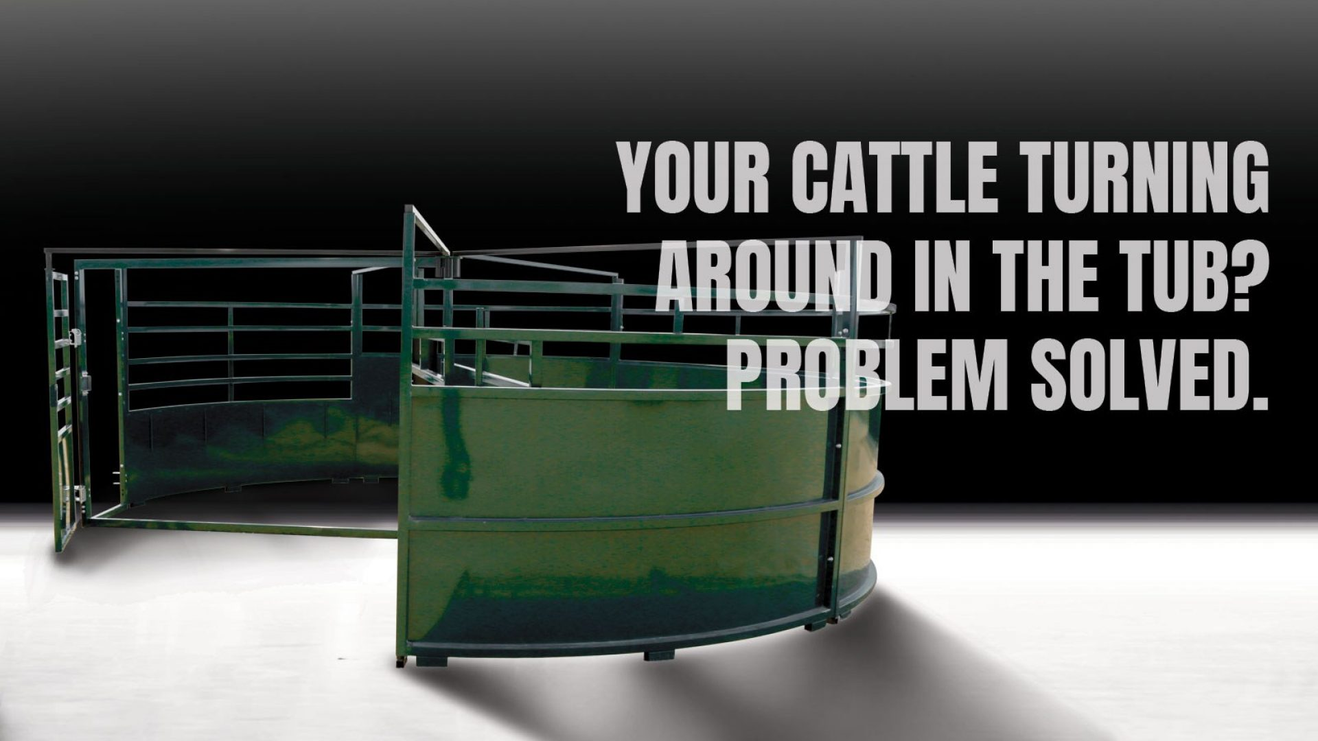 BudFlow Cattle Crowding Tub