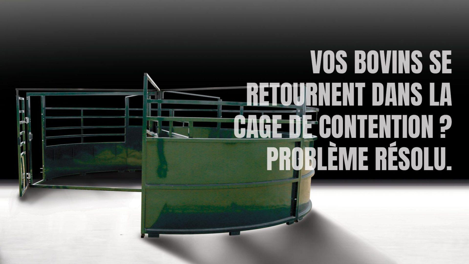 Image Hero d'un enclos pivotant pour bovins BudFlow