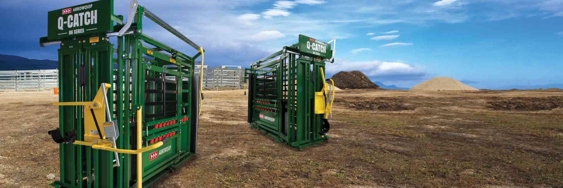 Q-Catch 86 Series Squeeze Cattle Chute