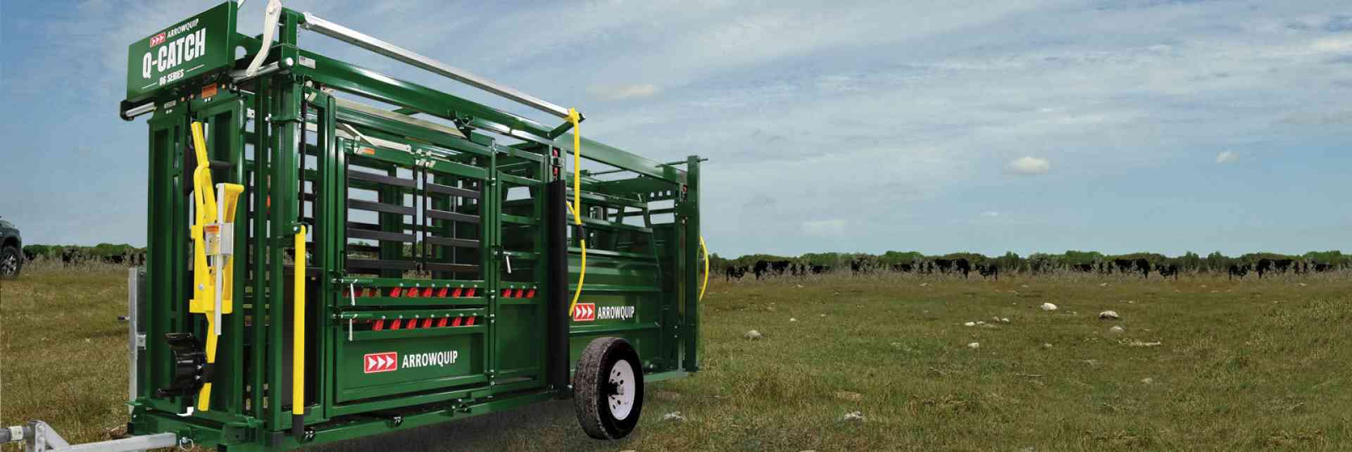 Portable Q-Catch 86 Series Cattle Chute & Cattle Alley | Arrowquip Cattle Equipment