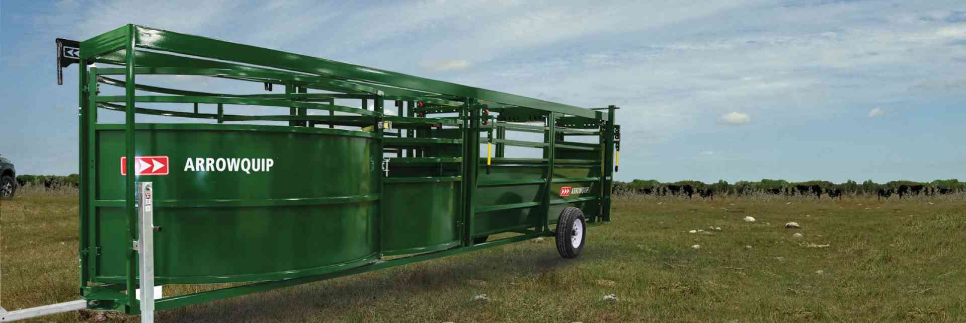 Portable Adjustable Cattle Alley and Cattle Tub | Arrowquip Cattle Equipment