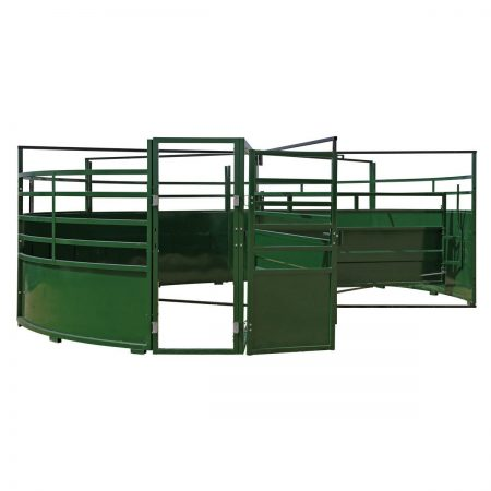 Arrowquip BudFlow 90 cattle sweep tub alley entrance