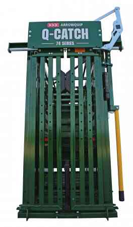 Q-Catch 74 Series Squeeze Chute image from the front