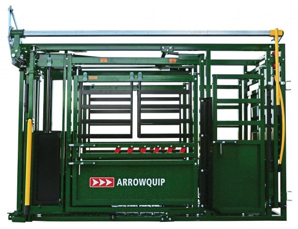 Q-Catch 74 Series Squeeze Chute side image