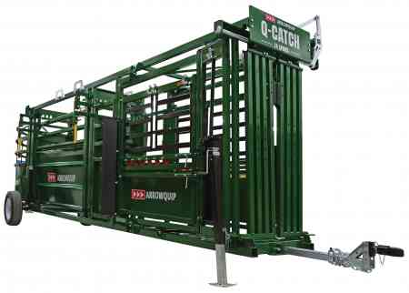 portable cattle handling system image of non working side