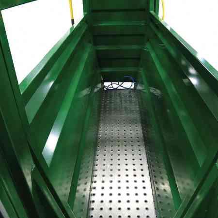 Plateforme de pesée pour couloir de contention de bovins Easy Flow