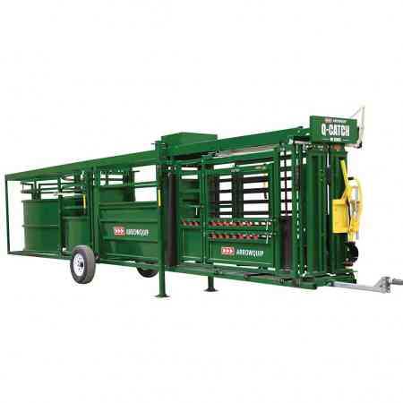 Portable Cattle Chute, Alley & Tub Opposite Side | Arrowquip Cattle Equipment