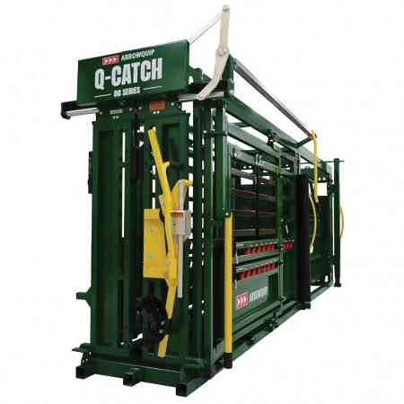 Portable Cattle Chute & Alley on Ground | Arrowquip Cattle Equipment
