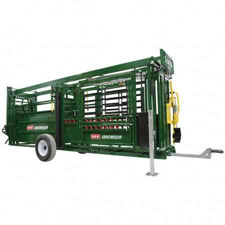 Portable Cattle Chute & Alley Opposite Side | Arrowquip Cattle Equipment