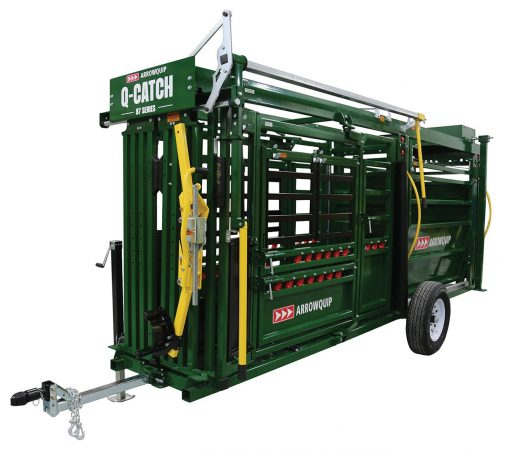 Portable cattle chute and alley