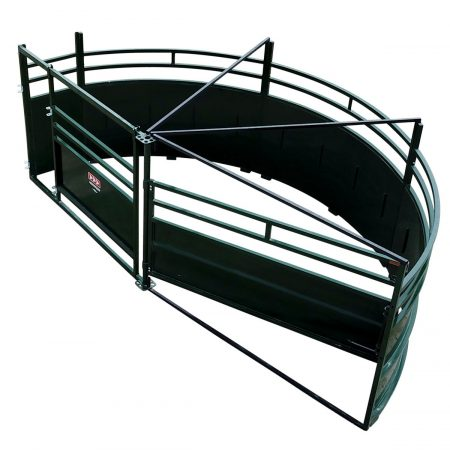 Cattle Tub Single 180° Alley Exit
