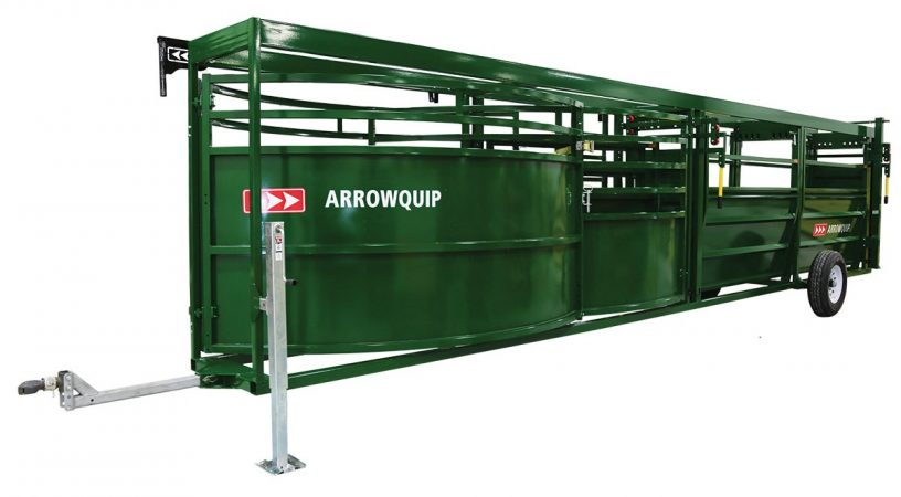 Portable Cattle Tub and Alley | Arrowquip Cattle Equipment
