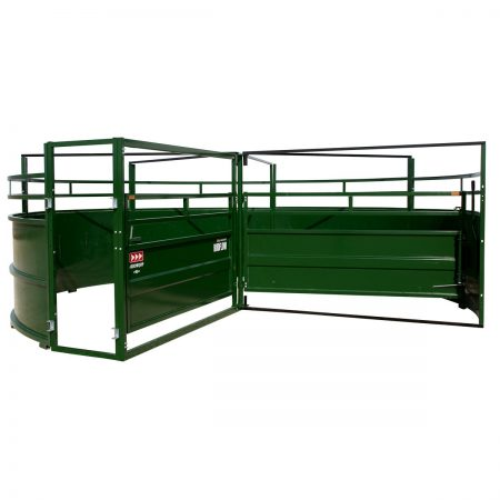 BudFlow cattle tub front view