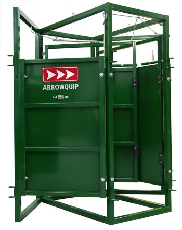 Front view of Cattle Sorting Race 45/45 Open by Arrowquip