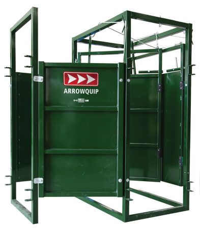 One Way Cattle Sorting Race 90 degree Side view by Arrowquip