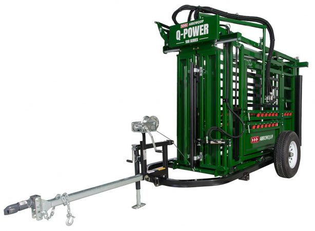 Cattle Chute Trailer With Hydraulic Cattle Chute Image | Arrowquip Cattle Equipment