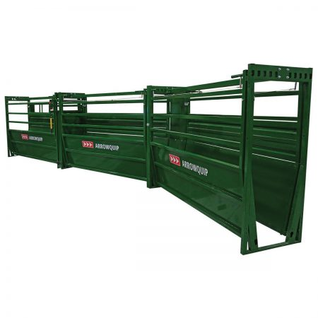 Easy Flow adjustable cattle alley curved