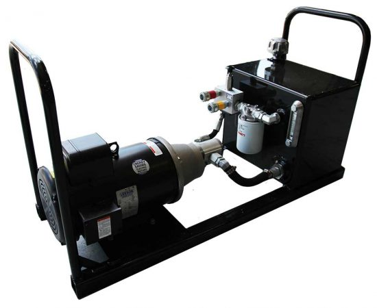 Hydraulic Cattle Squeeze Chute Electric Power Pack | Arrowquip Cattle Equipment