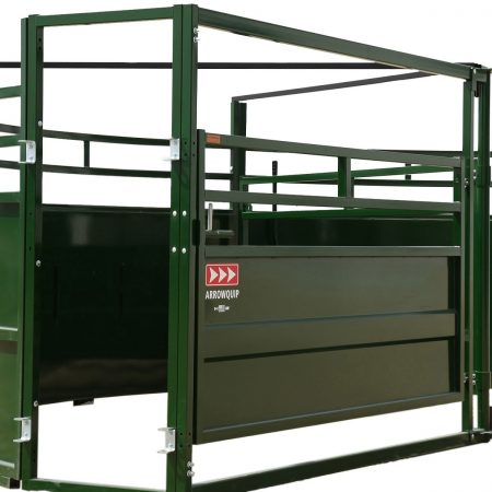 Exit Gate on Cattle Crowding Tub