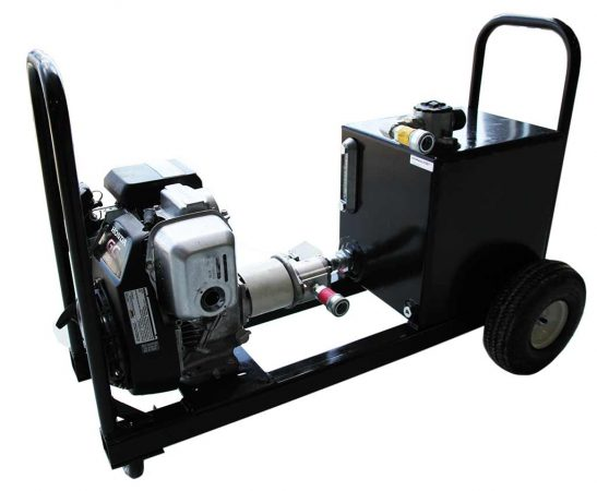 Hydraulic Cattle Squeeze Chute Gas Power Pack | Arrowquip Cattle Equipment