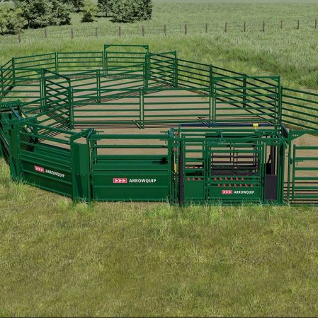 Cattle corral system thumbnail
