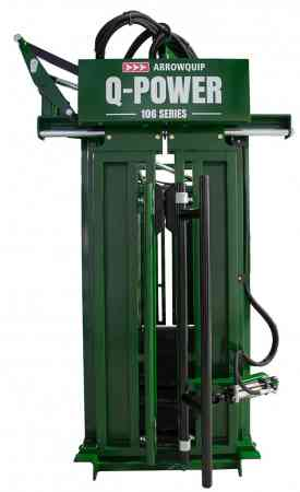 Hydraulic Cattle Squeeze Chute | Q-Power 106 Series Head Gate Image | Arrowquip Livestock Equipment