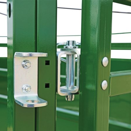 BudFlow cattle tub panel clips
