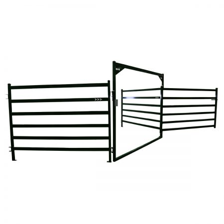 Arrow Cattle Panels with open bow panel configuration