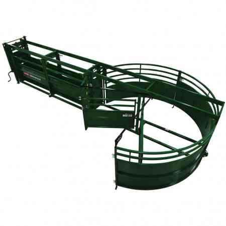 Portable Cattle Tub and Alley from above | Arrowquip Cattle Equipment