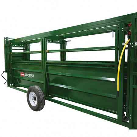 Easy Flow Alleys on Portable Tub & Alley | Arrowquip Cattle Equipment