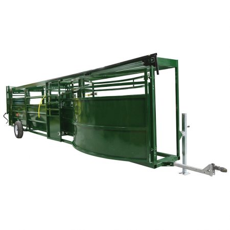 Transport of Portable Tub & Alley | Arrowquip Cattle Equipment