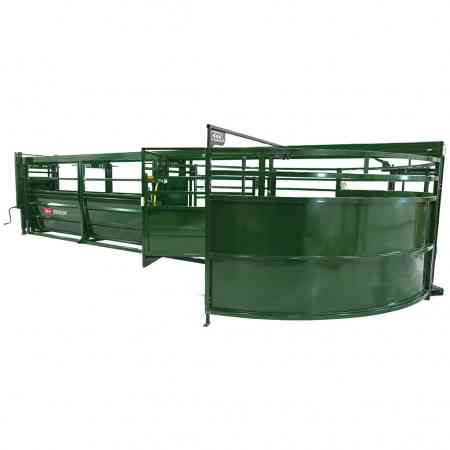 Portable Cattle Tub and Alley on Ground | Arrowquip Cattle Equipment