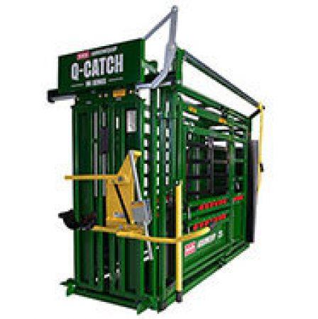 Cattle Cattle Crush | Q-Catch 86 Series Side View | Arrowquip Cattle Equipment