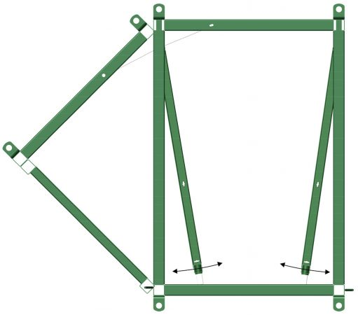 Cattle Sorting Alley 45/0 Diagram | Cattle Equipment