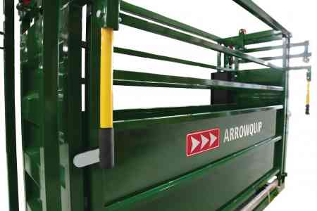 Cattle Scale Crate | Close Up Image | Arrowquip Cattle Equipment
