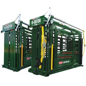 Q-Catch 87 and 74 Series cattle squeeze chutes