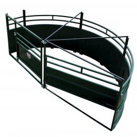 Cattle Tub with Single 180° Alley Exit