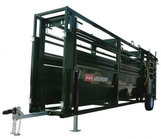Portable Cattle Tub and 16' Alley working system