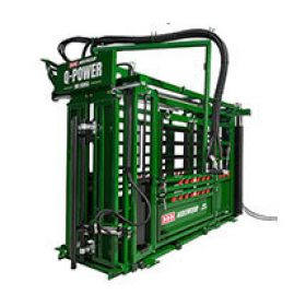Q-Power 106 Series hydraulic cattle chute