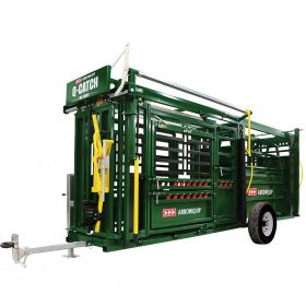 Q-Catch 86 Series Portable Cattle Crush and Race
