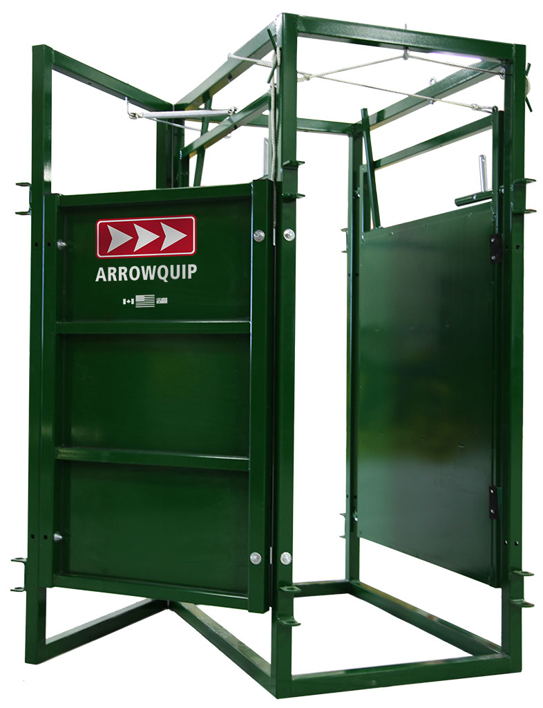 Cattle Sorting Alleys Cattle Sort Gate Options Arrowquip