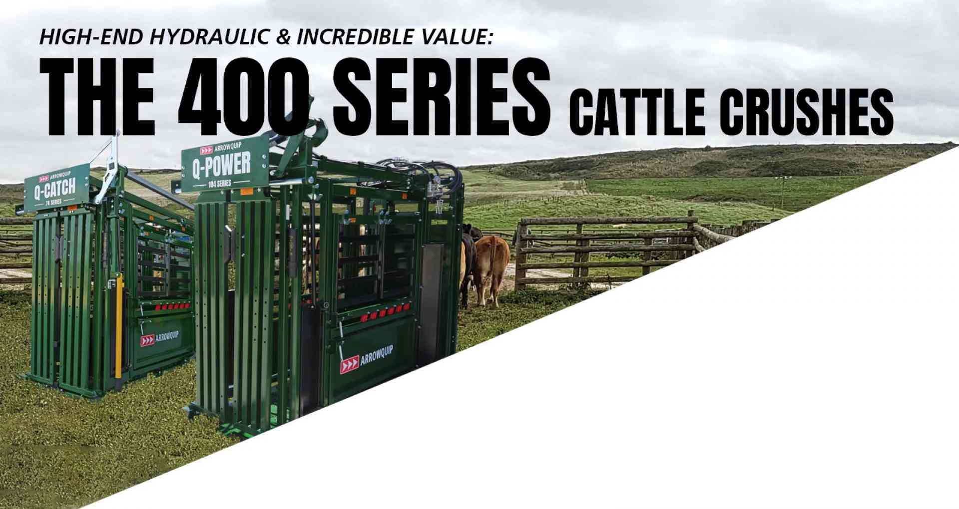 400 Series Cattle Crushes