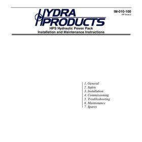 Hps hyd power pack UK 107